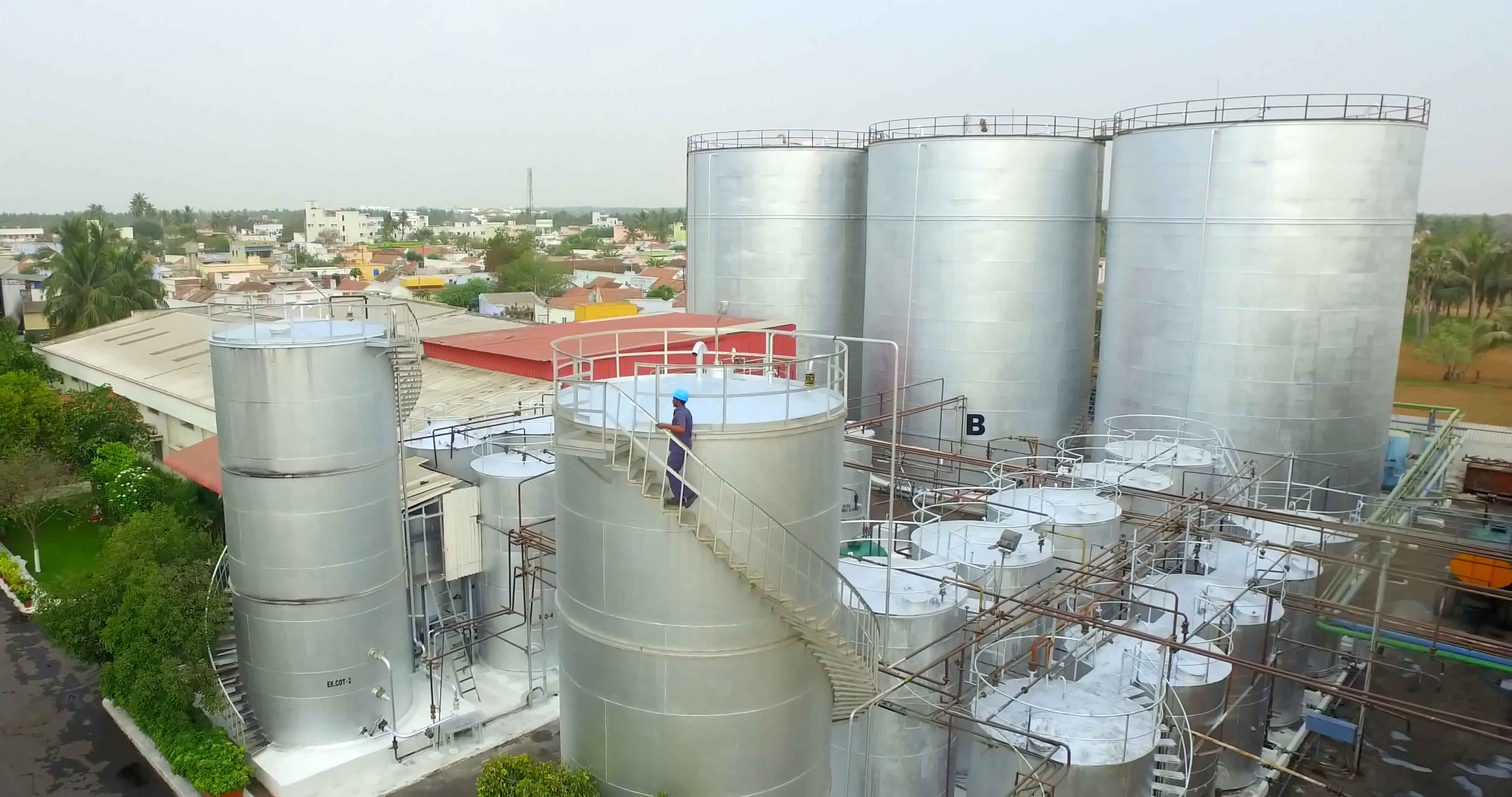 Porna Veg  Oil Complex Extraction